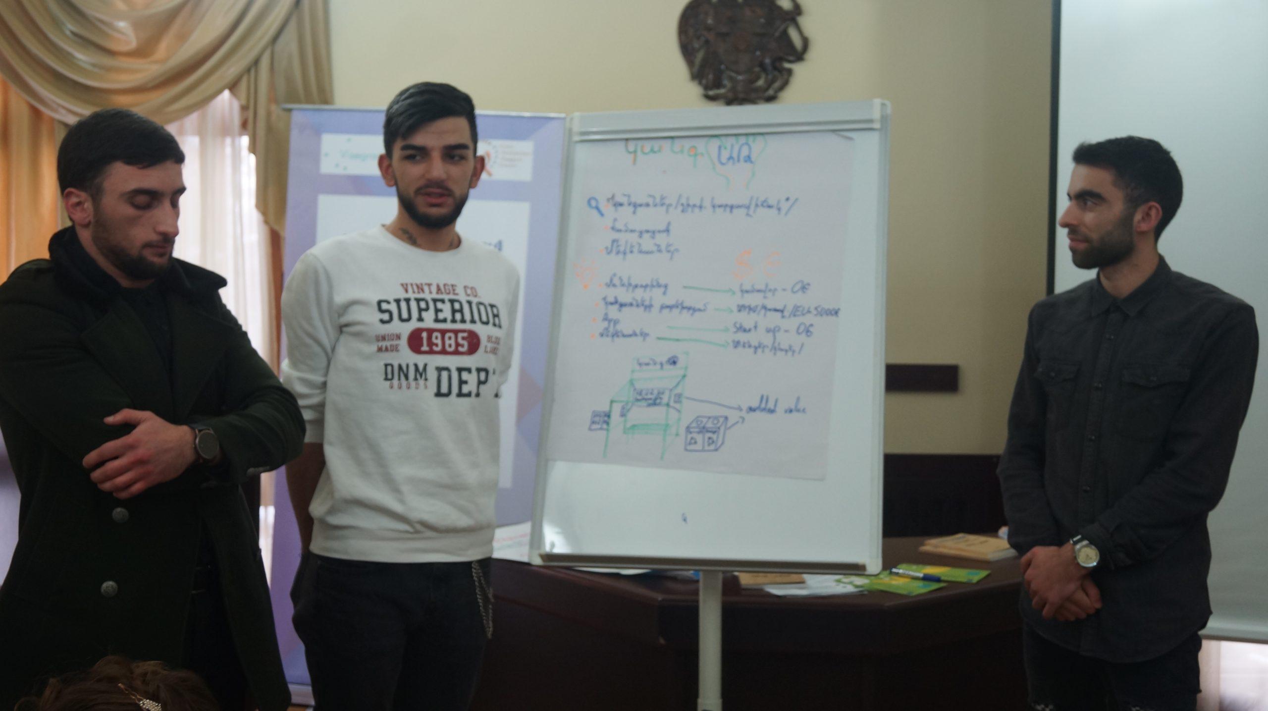 Workshop in Abovyan
